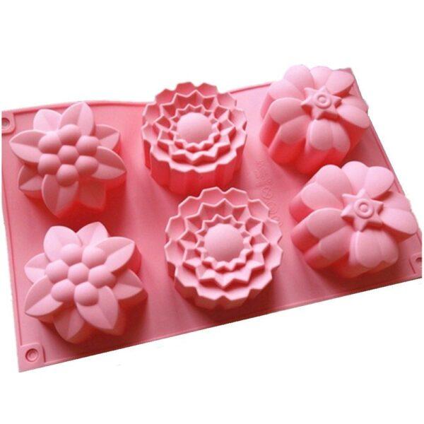 Silikoonvorm lilled
