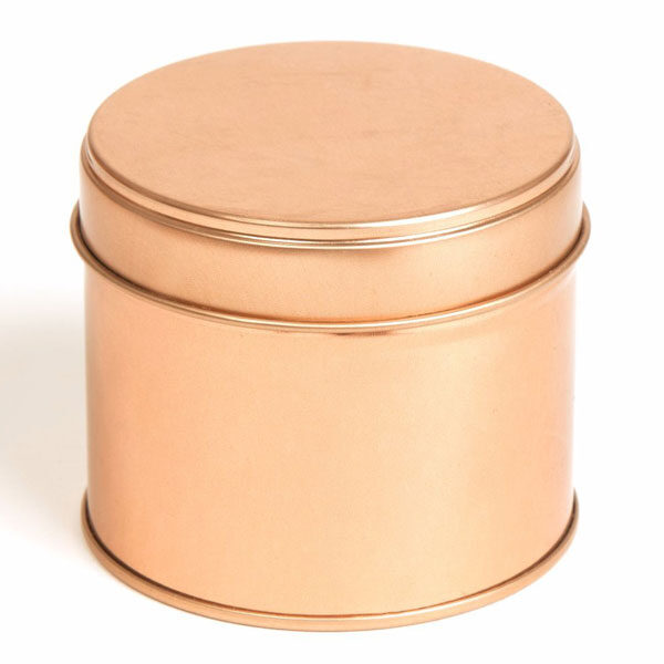 Metallpurk rose gold 250 ml