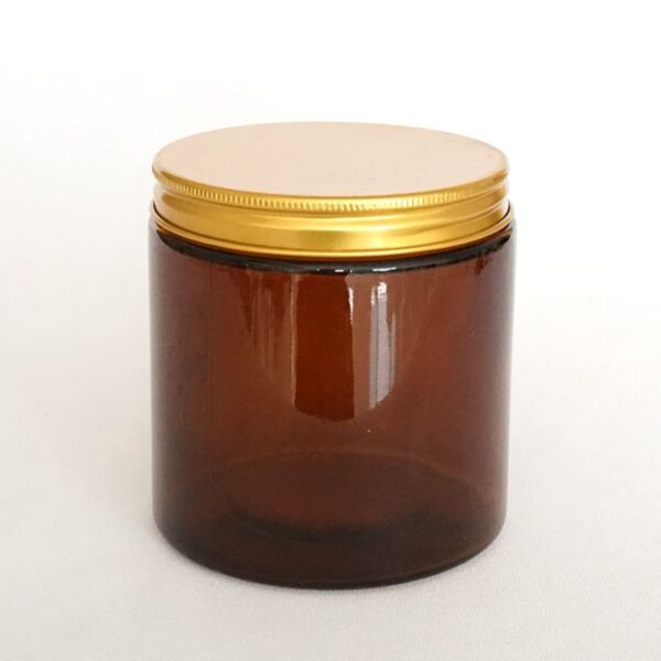 Purk kuldse kaanega 180 ml