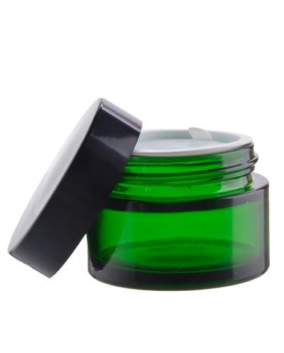 Klaaspurk 30 ml roheline