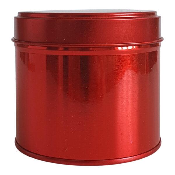 Metallpurk punane 250 ml