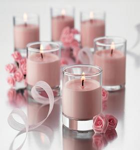 küünla valmistamine roosa